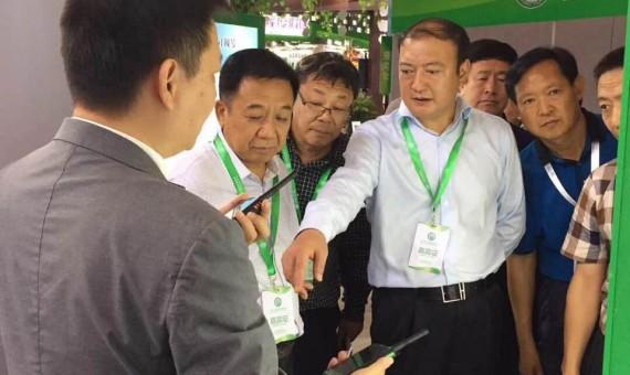 2017中国森林旅游节在上海世博馆开幕-知晓科技参与其中