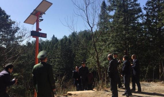 福建林业厅厅长带福建各地市林业局局长参观我司卡口设备
